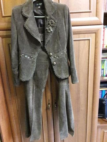 Костюм класичий 4 юбка юбочка штани брюки пиджак нарядний вільветовий