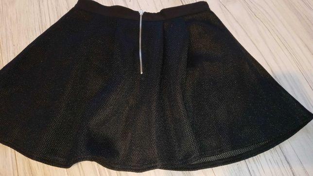 Spodnica rozkloszowana suwak zip 38