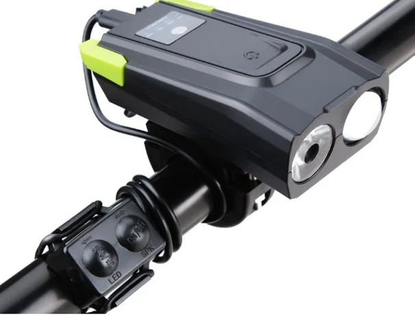 Срочно! Смарт велофара+велозвонок, аккум-р. 2000 мАч., датчик движ.
