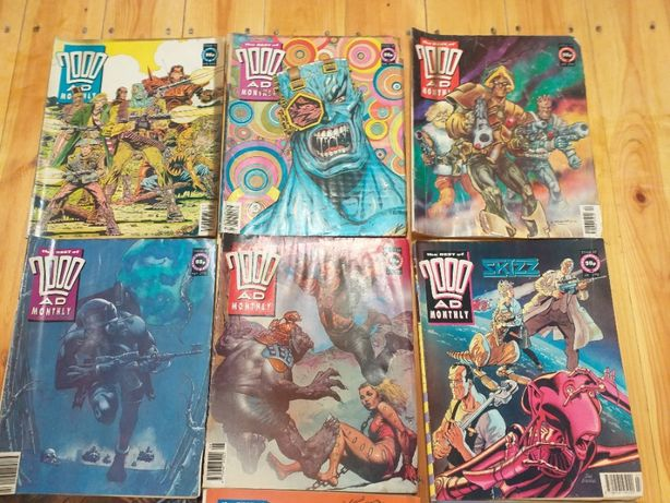The Best of 2000AD Monthly 6 numerów 92