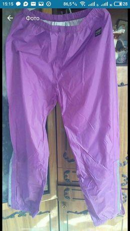 Прорезиненые брюки
