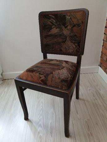 Krzesło drewniane, PRL stare, antyk 1 sztuka