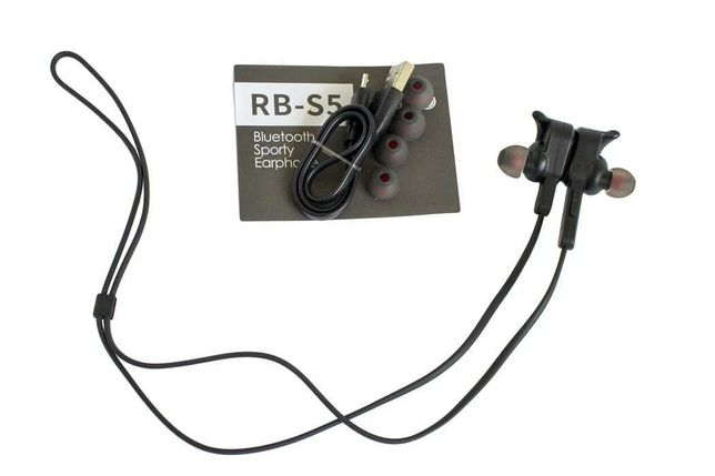 Наушники беспроводные bluetooth Remax RB-S5 Black