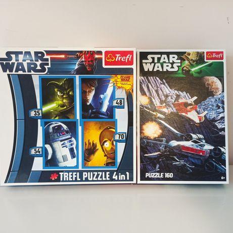 2 X puzzle Star Wars Trefl
