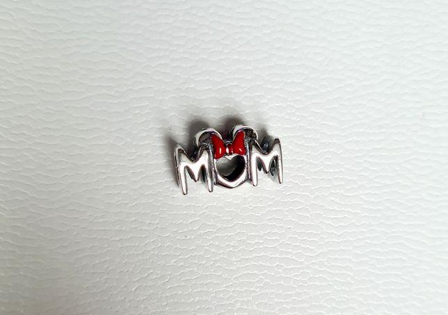 Charms MOM na dzień matki srebro próba ALE 925 Pandora