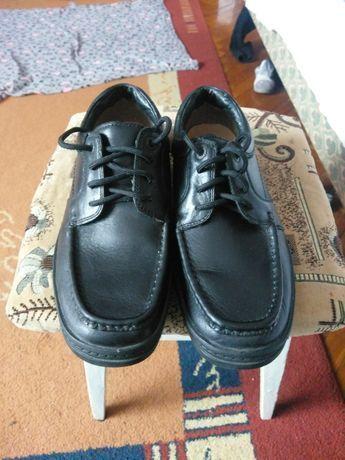 Шкіряні практично як нові туфлі ecco, Clark's розмір 42