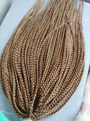 Warkoczyki wielorazowe box braids