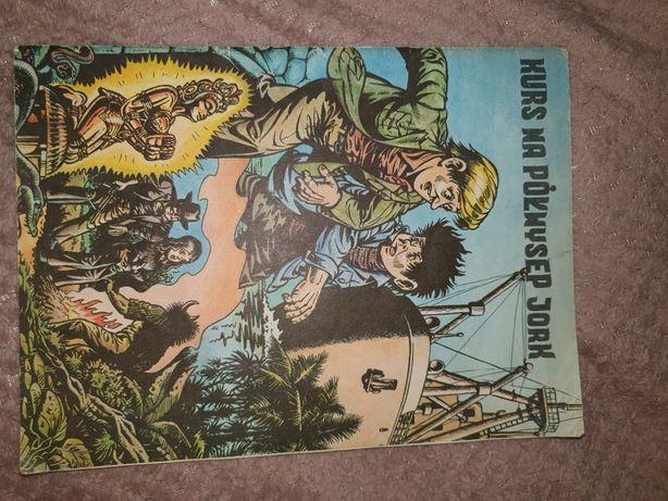 Komiks Kurs na Półwysep  Jork
