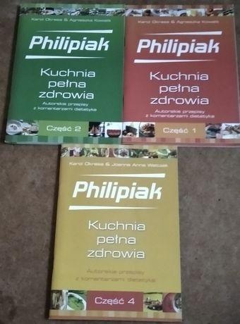 Philipiak kuchnia pelna zdrowia cz1, cz2, cz4