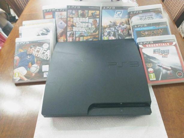 PS3 + 9 gier + kamerka