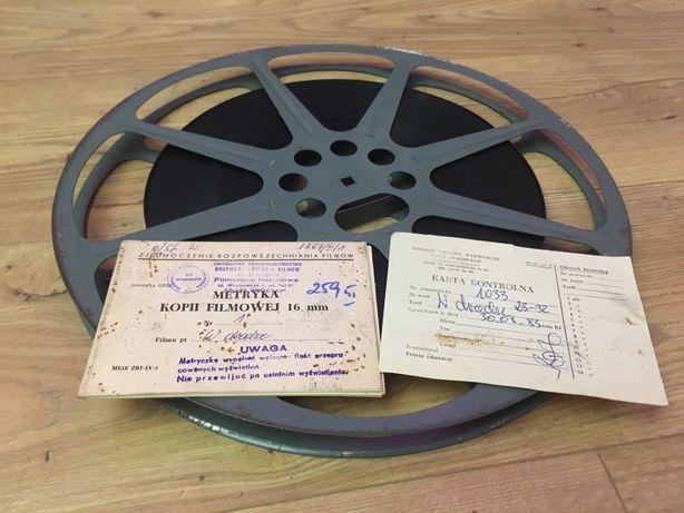 """Film 16mm, taśma filmowa """"w drodzę"""""""