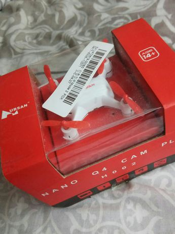 Продам коптер hubsan NANO Q4 cam plus H002