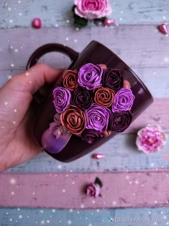 Цветочная чашка из полимерной глины