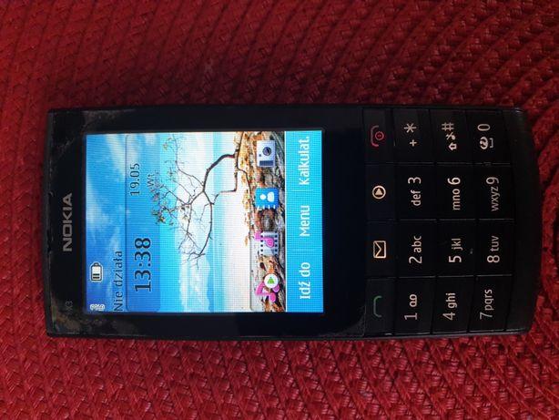 Telefon Nokia X3-02 z głośnikiem Nokia