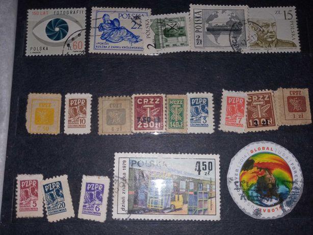 Kolekcja znaczki pocztowe około 1600sztuk