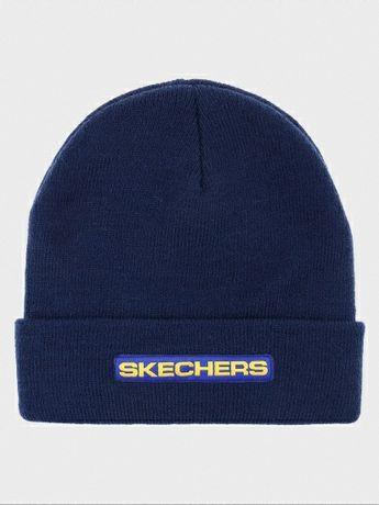 Skechers оригинал,шапка зимняя,спортивная,one size.