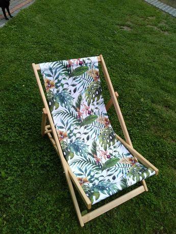 Gotowy materiał do leżaka drewnianego ogrodowego NOWY