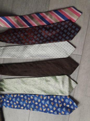 Zestaw markowych krawatów Joop, Ungaro, Feraud
