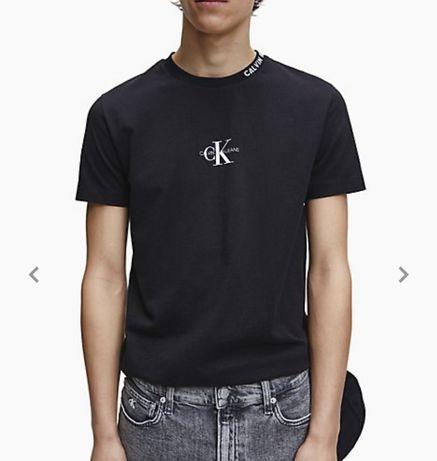 Мужская футболка Calvin Klein, размер М, оригинал, Slim fit