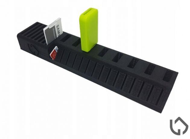 Stojak organizer na pendrive karty pamięci USB