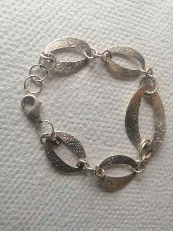 Bransoletka srebra  925