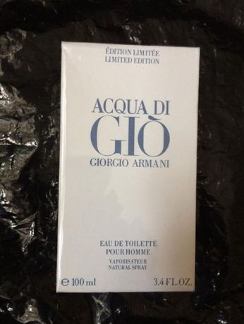 giorgio armani acqua di gio limited edition pour homme 100 ml