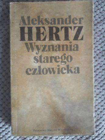 """A. Hertz, """"Wyznania starego człowieka""""."""