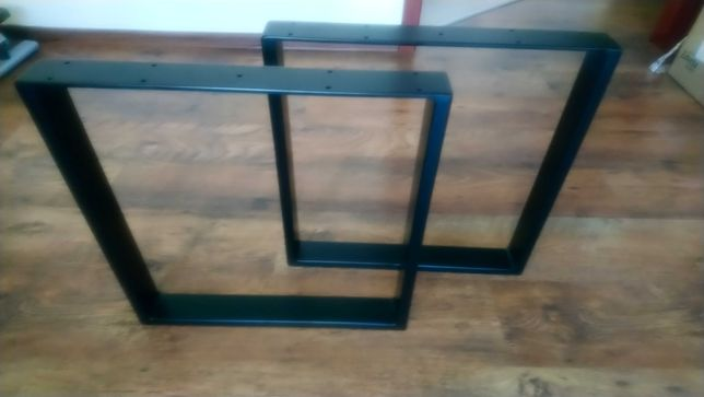 Nogi  stelaże do stołu z profili metalowych