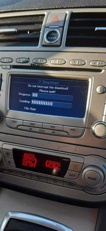 Polskie menu radionawigacja Ford
