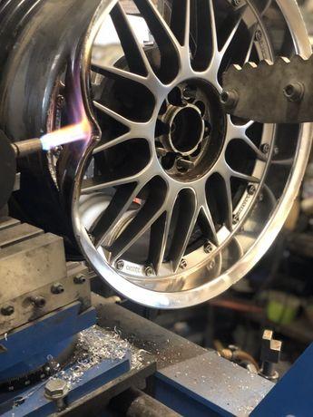 Prostowanie Spawanie Felg Aluminiowych Stalowych Malowanie Felg