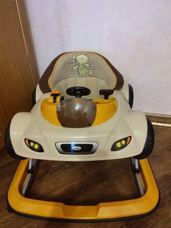 Ходунки-машина с мигалками и звуками Jane Team Sport