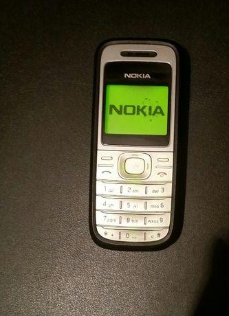 Telefon nokia 1200 monochromatyczna biały kruk