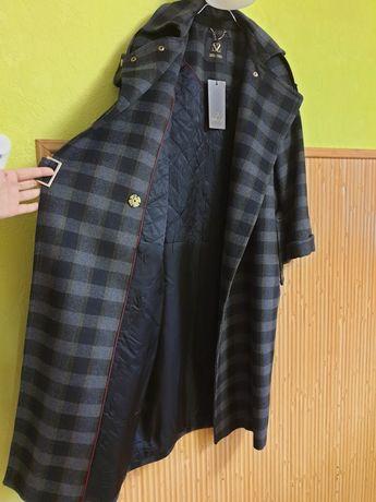 Новое Италия шерсть пальто Sassofono Massimo Dutti Cos женское m s 38