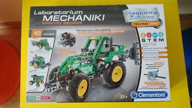 Nowy zestaw - Laboratorium Mechaniki - Ciągnik - Clementoni