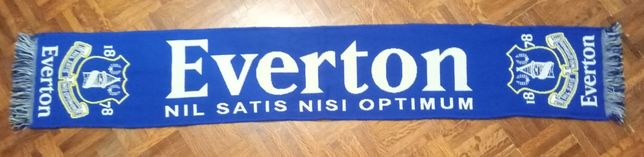 Cachecol futebol Everton FC