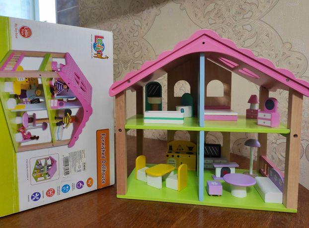 Кукольный домик Na-Na Lelin деревянный для Lol , ляльковий будинок лол