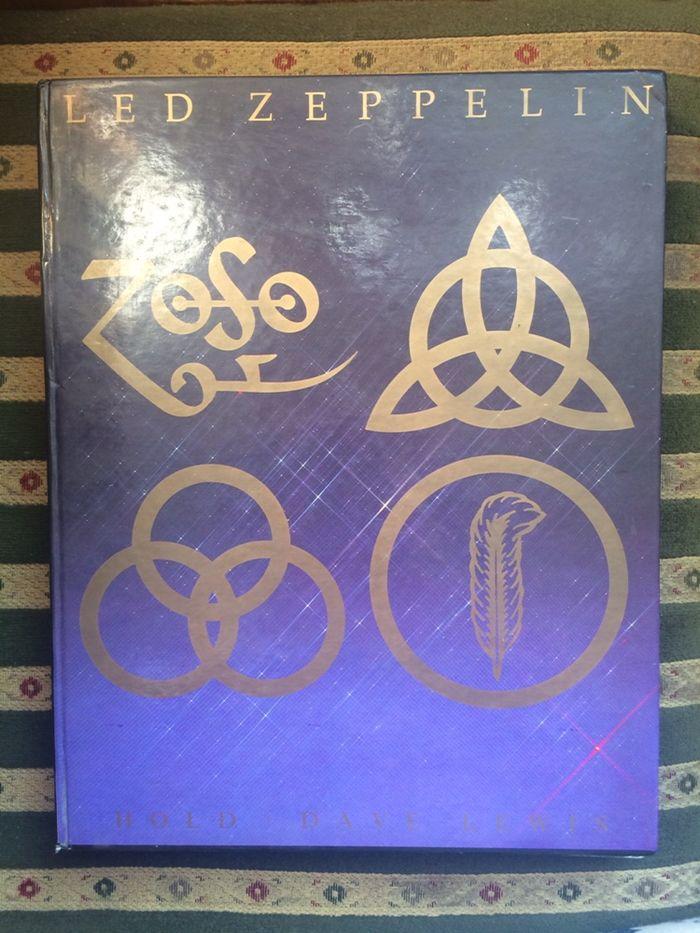 Led Zeppelin hołd Dave Lewis Album Monografia Sosnowiec - image 1