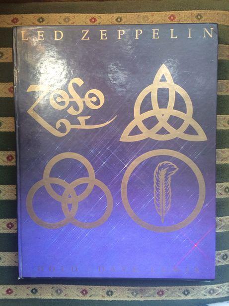 Led Zeppelin hołd Dave Lewis Album Monografia