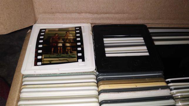 Рамка для диафильма, фотоплёнки 35мм пластик и картон