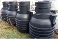 Zbiorni na wodę i ścieki 4400 litrów- 4 komorowy, OGK 4400 CENTROPLAST