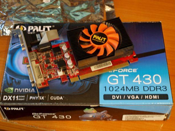 Видеокарта Palit GeForce GT 430 с 1 ГБ GDDR3