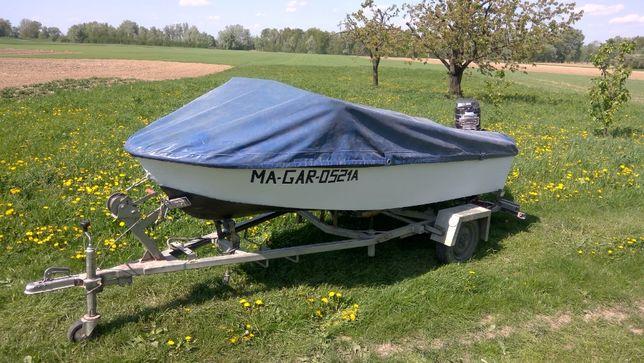 Łódź motorowa/łódka wędkarska