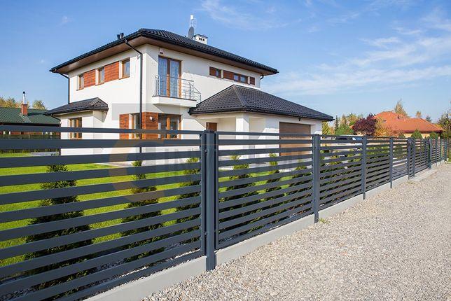 Przęsło ogrodzeniowe Panel ogrodzeniowy Montaż ogrodzeń bram paneli
