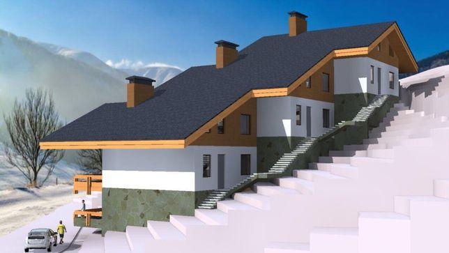 Буковель, урочище Прохідний. з проектом і дозволами на будівництво.