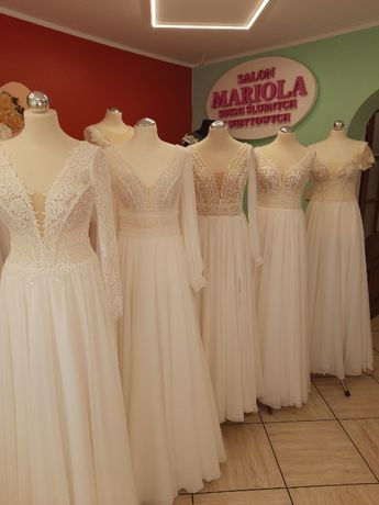 Piękne suknie ślubne polecam
