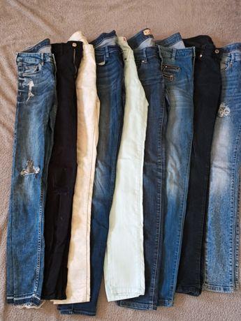 Spodnie jeansy xs s 34 36