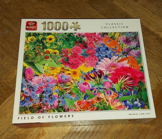 Puzzle, kwiaty 1000 szt.