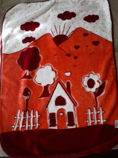 Плед Одеяло для малышки 80×110