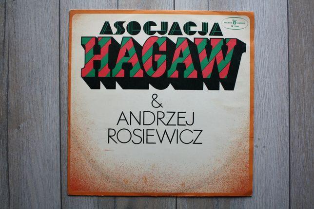 Asocjacja Hagaw & Andrzej Rosiewicz 1975 winyl płyty winylowe