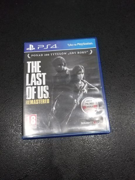 THE LAST OF US Remastered gra na PlayStation 4